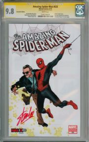 Amazing Spider-man  #638 Fan Expo Variant CGC 9.8 Signature Series Signed Stan Lee Marvel comic book